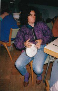 Starhawk beim Arkuna-Workshop 1990